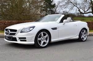 White Mercedes Convertible Second Mercedes Slk Slk 250cdi Amg Sport For