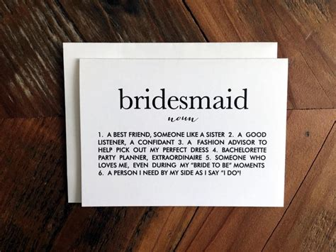 will u be my meaning will you be my bridesmaid card bridesmaid definition card