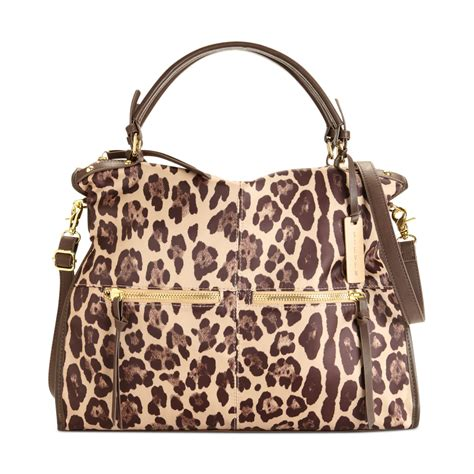steven by steve madden handbag tote in brown leopard lyst