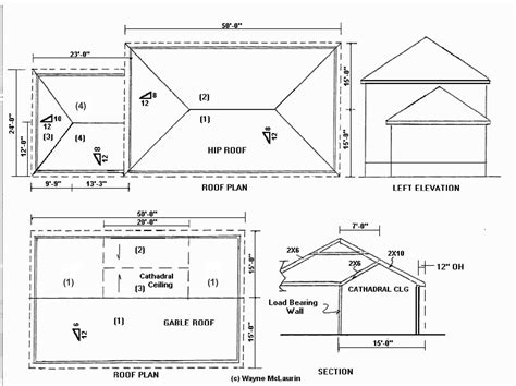 Hip Roof Section Residential Section Hip Roof Search