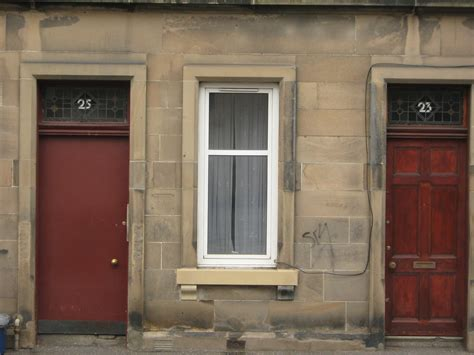 File Mcdonald Rd Edinburgh Original Stain Glass Door Glass Door Numbers