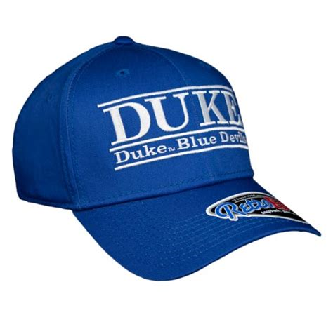 duke colors duke large retro snapback college colors bar hats by the