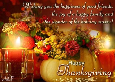 Thanks For Warm Thanksgiving Wishes. Free Thank You eCards