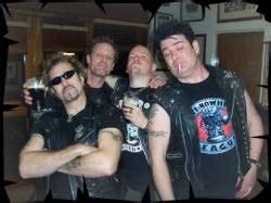 Kaos Keren Anti Nowhere League Rock Band Nick Culmer anti nowhere league dyskografia sk蛯ad biografia wywiady zdj苹cia