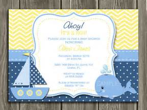 sailboat baby shower invitations theruntime