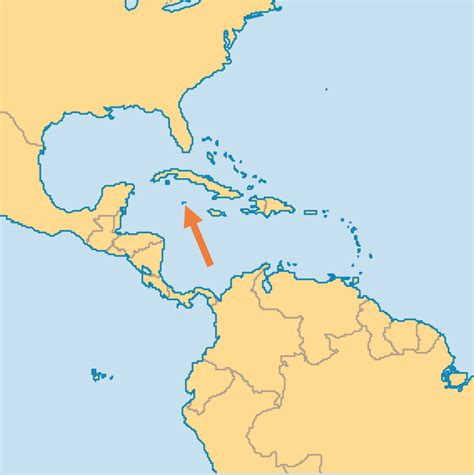 where are the cayman islands on a world map cayman islands operation world