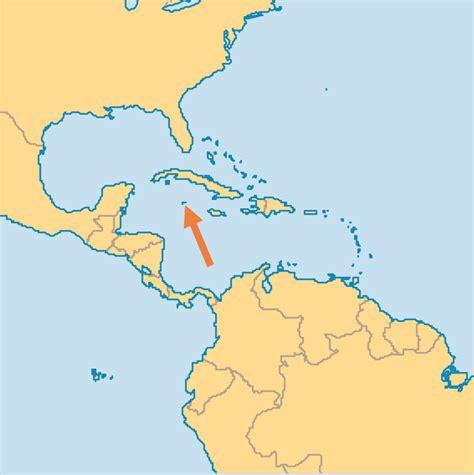 cayman islands in world map cayman islands operation world