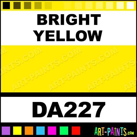 bright yellow paint bright yellow decoart acrylic paints da227 bright