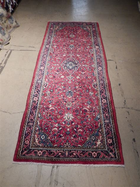 clearance rugs sale original 4 x 11 rug clearance sale knotted runner kashan iran ebay