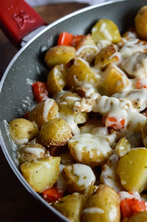 cheesy potato chicken dinner wonkywonderful