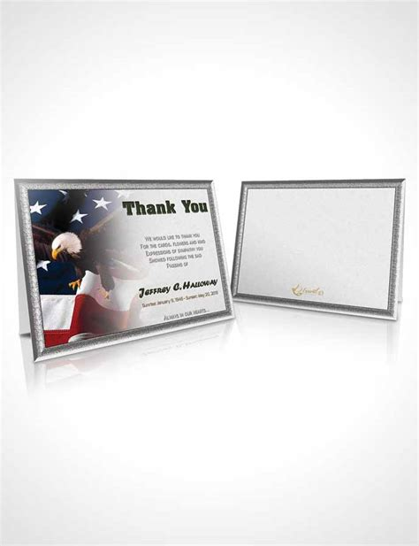 veterans day thank you card template obituary template trifold brochure 1st veterans day