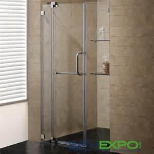 54 inch shower door vigo 54 inch frameless shower door 3 8 quot clear glass