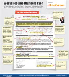 resume mistakes to avoid retailing from a to z by joel