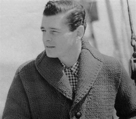 mens shawl collar sweater knitting pattern s vintage shawl collar cardigan chunky knit by knitspasse