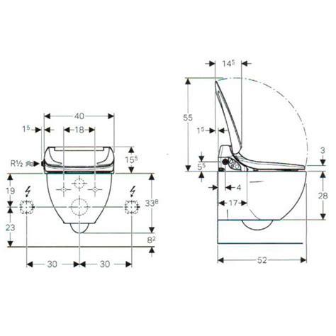 Preis Teceone by Geberit Aquaclean 4000 Set Wc Aufsatz Mit Wc Komplett 146