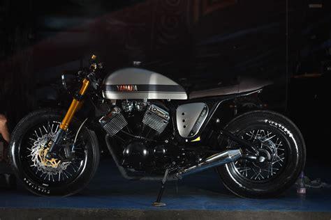 yamaha virago 535 quot the clyro quot cafe racer studio motor