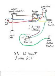 8n 12 volt wiring problems ford 9n 2n 8n forum yesterday s tractors