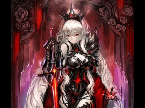 anime queen wallpaper black queen other anime background wallpapers on