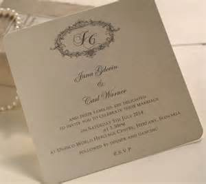 personalised wedding invitation text personalised wedding invitations by beautiful