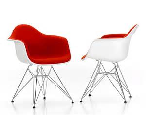 Felt Upholstery Vitra Eames Plastic Armchair Dar By Charles Amp Ray Eames