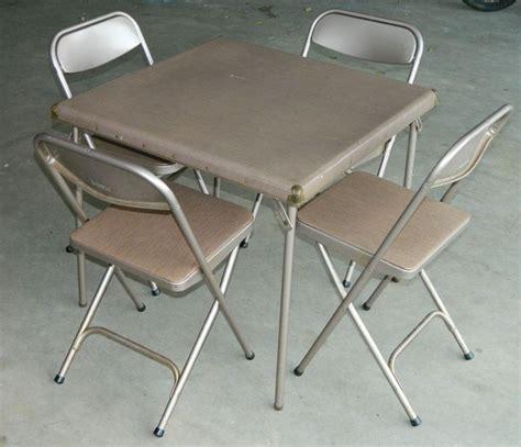 7733 amp 2533 vtg retro samsonite folding card table 4