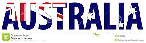 australian names australia name and flag royalty free stock photos image 5494618