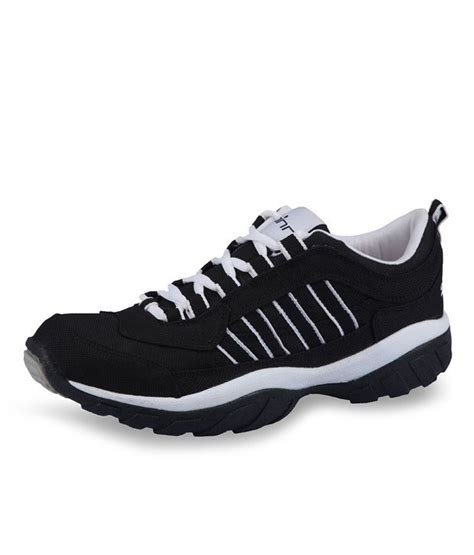 spinn sports shoes spinn stylish black and white sport shoes price in india