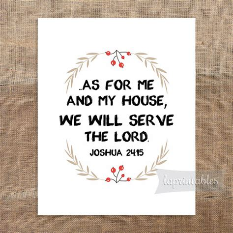 as for me and my house books as for me and my house we will serve the lord by laprintables