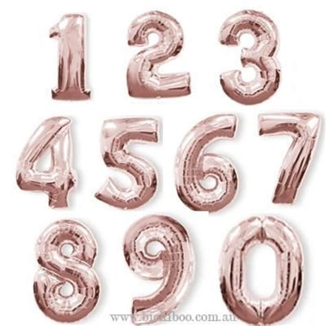 Number Balloon best 25 number balloons ideas on number