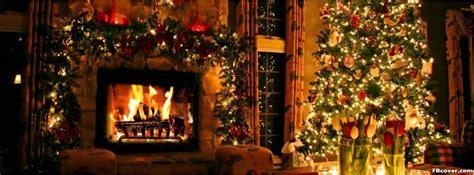 christmass tree fireplace facebook cover photo fbcovercom