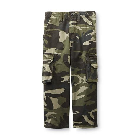 Camouflage Your Shopping by Boy S Twill Cargo Camouflage Shop Your Way