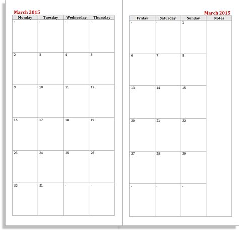 printable calendar 2015 notebook hacking a midori traveler s notebook the well appointed desk