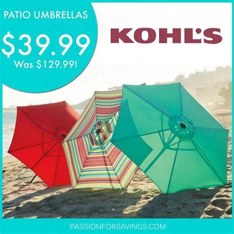 hot kohls patio umbrellas
