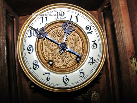 Jugendstil Uhr by Antike Wanduhr Regulator Gr 252 Nderzeit Od Jugendstil Pendel