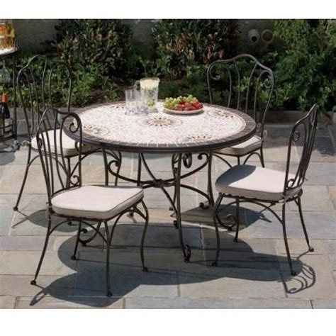 48 inch dining table set alfresco home pebble sole outdoor dining table set 48