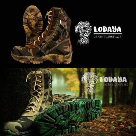 Sepatu Merk Delta jual sepatu safety boots delta tactical outdor army by