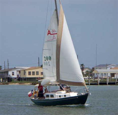 sailboats kemah alberg 30 1966 kemah texas sailboat for sale from