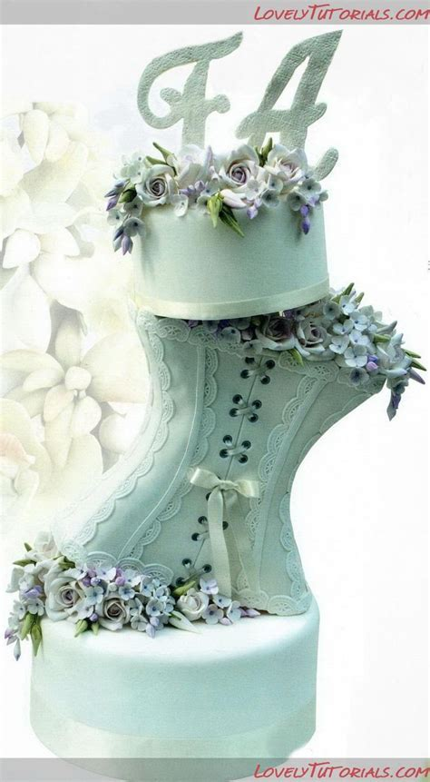 25  best ideas about Corset cake on Pinterest