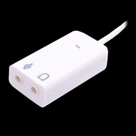 Usb Sound 71 usb2 0 to 7 1 sound card cable נט ביט