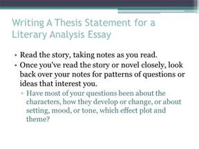 Character Analysis Essay Thesis Statement by Literary Analysis Essay The Most Dangerous