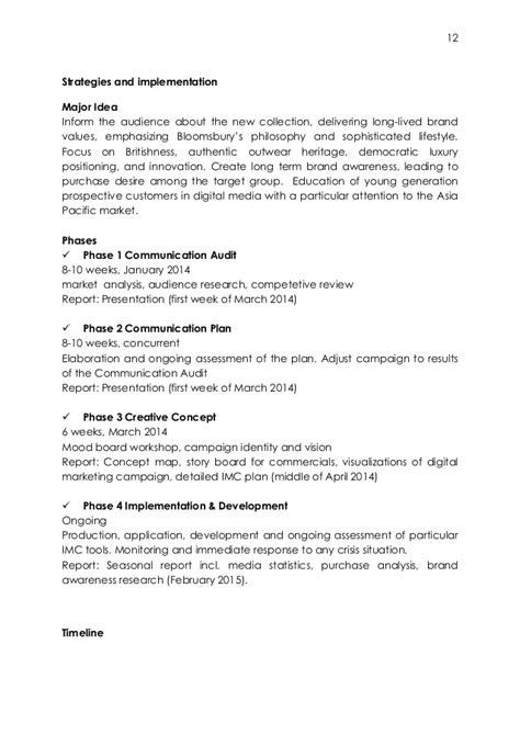 Mission Statement Burberry Essays by Marketing Communication Plan Burberry Prorsum Womenswear Line Aw 20