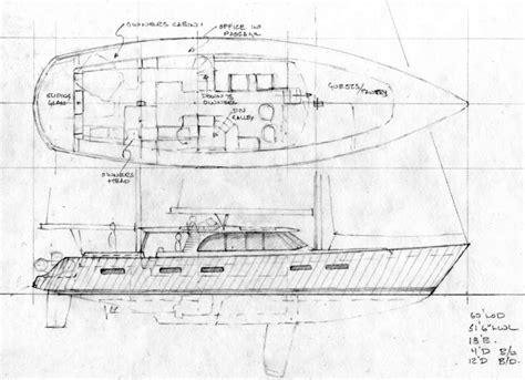 motor sailer boat plans 60 modern steel motorsailer sail boat designs by tad