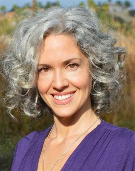 short curly grey hairstyles 2015 gorgeous short grey hairstyle ideas for 2016 2017