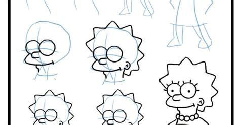 como dibujar a lisa simpson paso a paso how to draw lisa aprende a dibujar a lisa simpson paso a paso http www