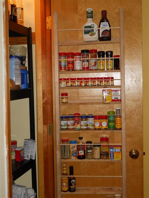 Pantry Door Spice Rack by Spice Rack For Pantry Door Projects Completed