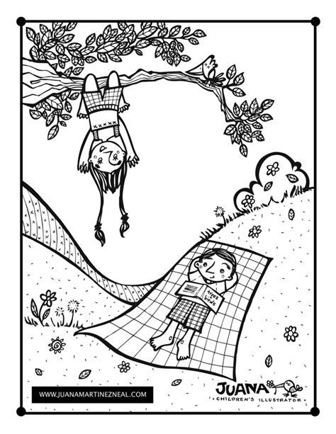 Children S Publishing Blog Juana Martinezneal Outdoor Coloring Pages