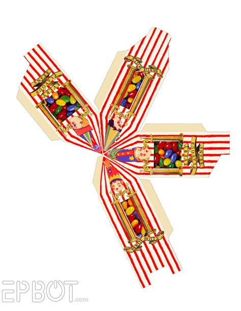 bertie botts every flavour beans template epbot bertie bott s every flavour ornaments free papercraft