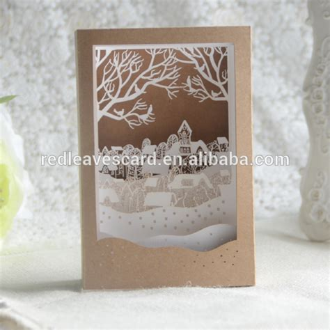 Laser Cut Popup Card Template by Fashion Selling Laser Cut 3d Pop Up