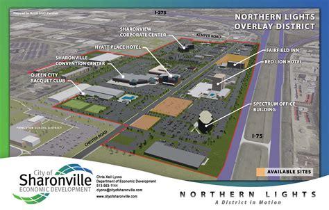 sharonville in lights northern lights district sharonville oh official website