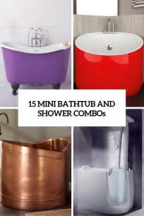Small Bath And Shower Combo 15 Mini Bathtub And Shower Combos For Small Bathrooms